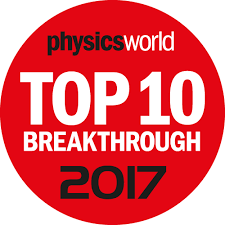 Physics World Top 10 breakthrough cover